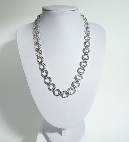 925 Hand Crafted Sterling Silver Necklace Which is Exclusive